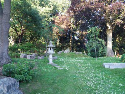 Il Giardino in stile giapponese presente ad Holland Park. è stato realizzato per sviluppare tutti i sensi