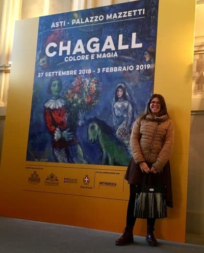 Cartellone mostra Chagall