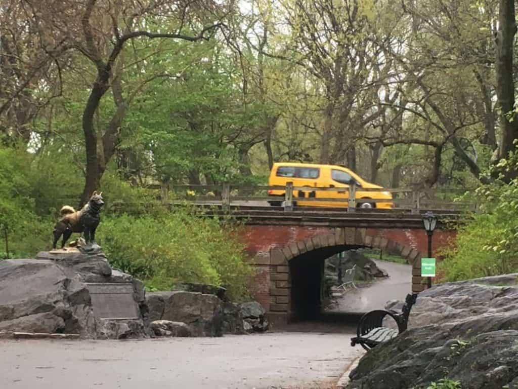 Central Park Statua di Balto a New York