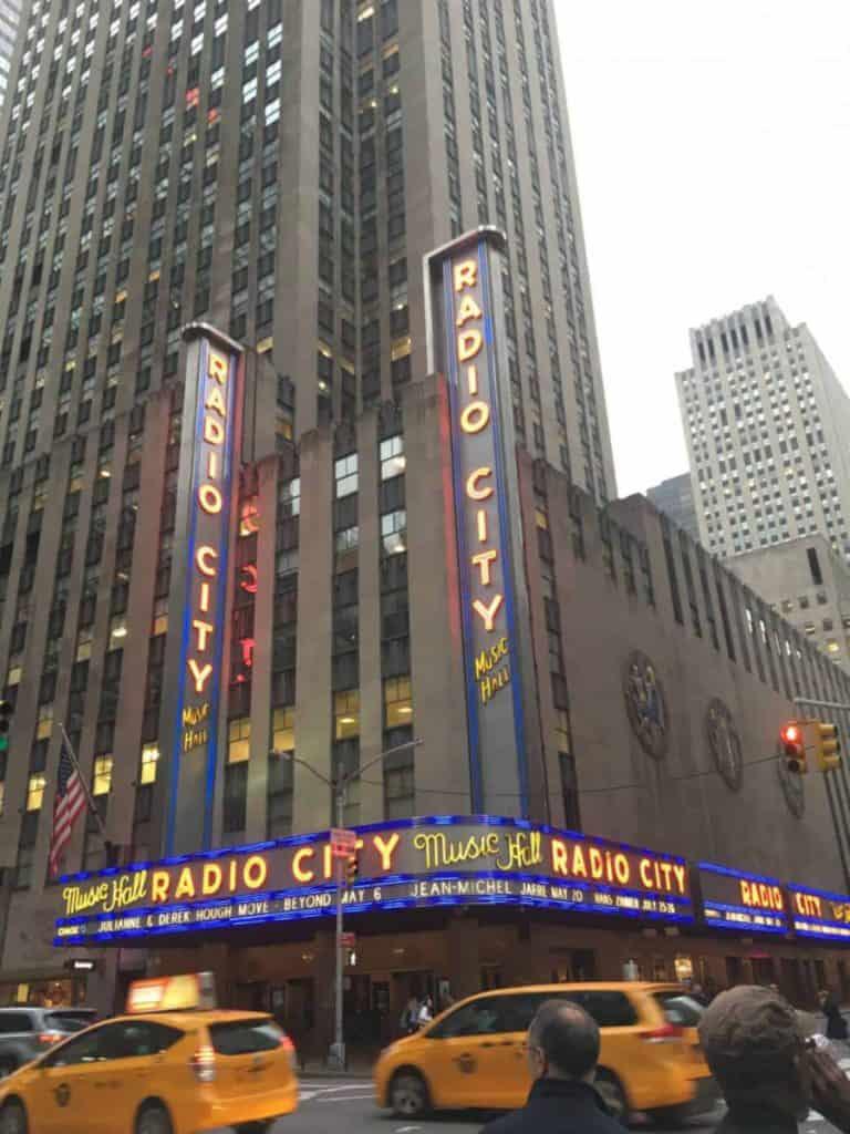 Radio City Hall Rockefeller Center New York Manhattan