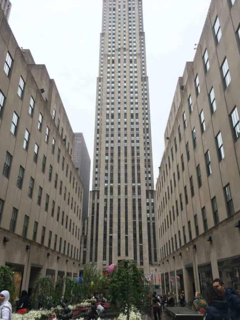 Rockefeller Center sede di GE in New York