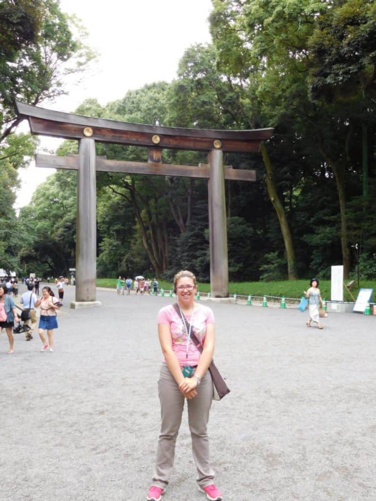 Tempio Meiji: Ingresso di Tokyo