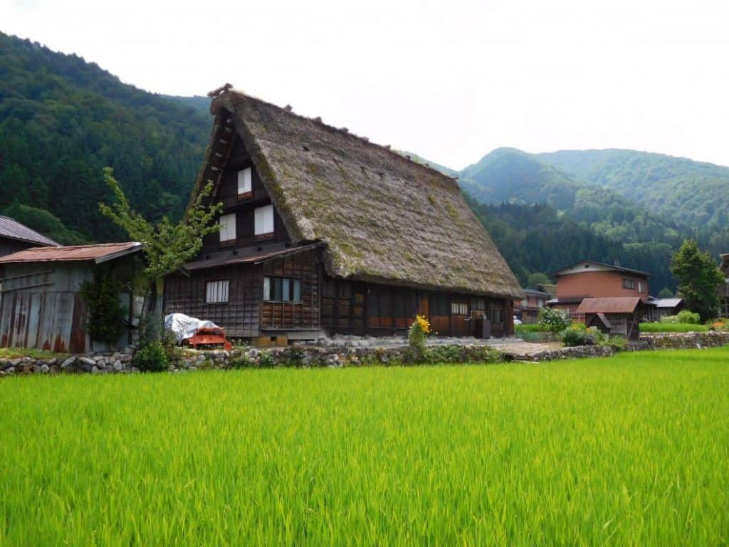 Shirakawago: com'è fatta una casa tipica
