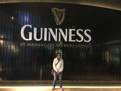 … e famoce 'na bira da Guinness!