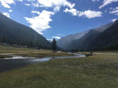Trekking in Valle Argentera