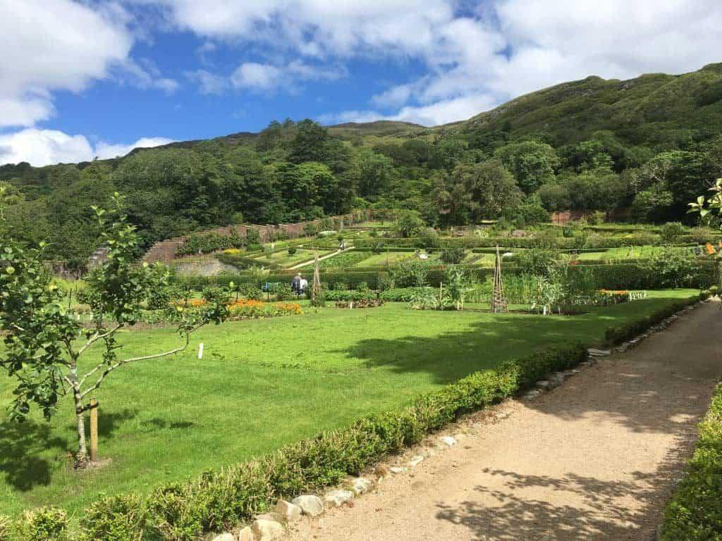 Victorian Walled Garden: sezione dei giardini