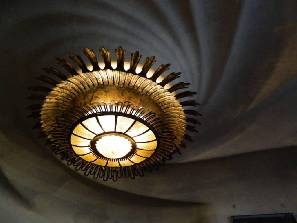 lampadario casa batllo