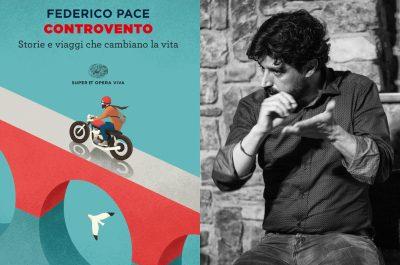Federico Pace e il libro Controvento