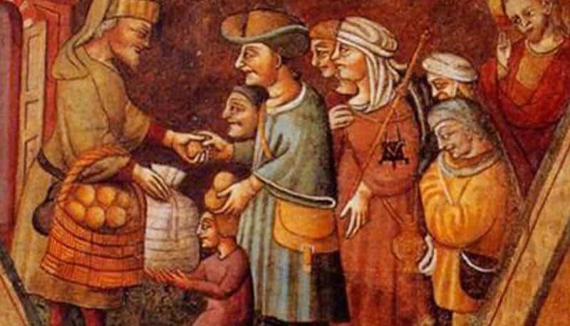 Mercante nel medioevo