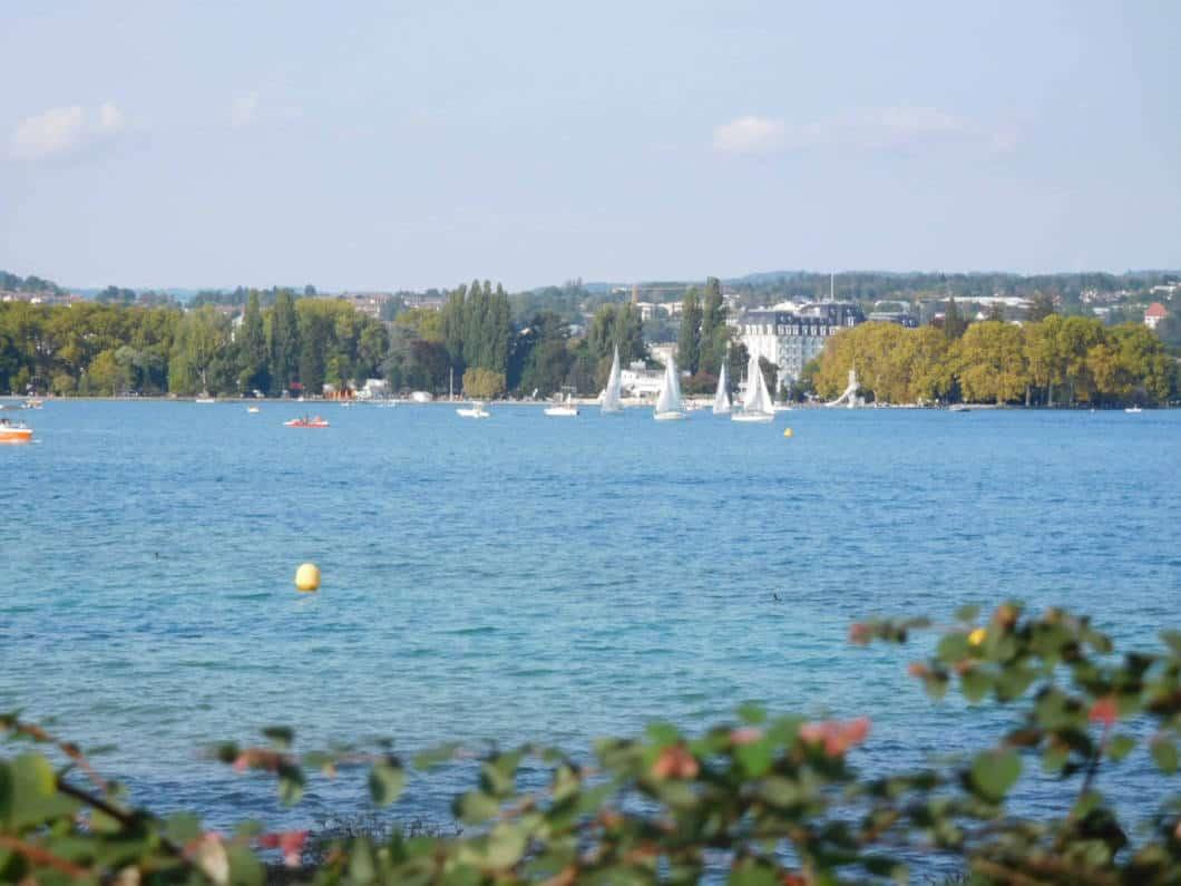 In tandem sul lago di Annecy