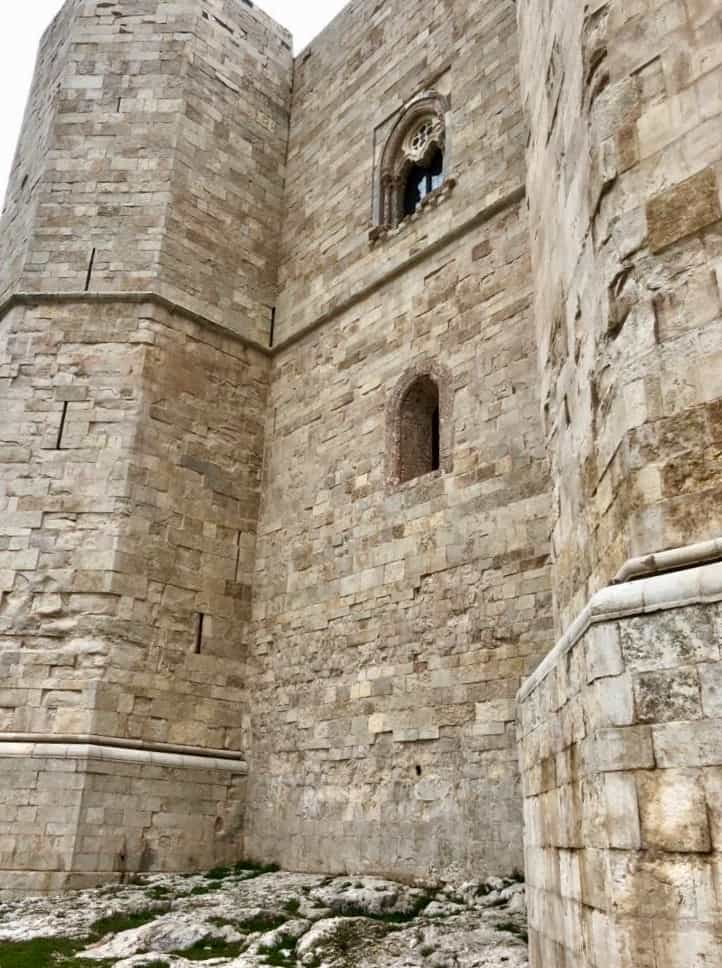 Mura esterne di Castel del Monte