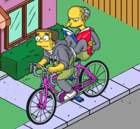The Simpsons: Burns e Smithers in tandem